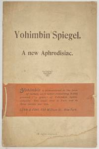 image of Yohimbin Spiegel: a new aphrodisiac