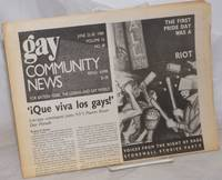 image of GCN: Gay Community News; the weekly for lesbians and gay males; vol. 16, #48, June 25-30, 1989; Voices from the Night of Rage: Stonewall Stories part 2