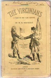 The Virginians by  William Makepeace Thackeray - Paperback - 1st - 1857 - from James & Mary Laurie Booksellers (A.B.A.A.) (SKU: 9001258)