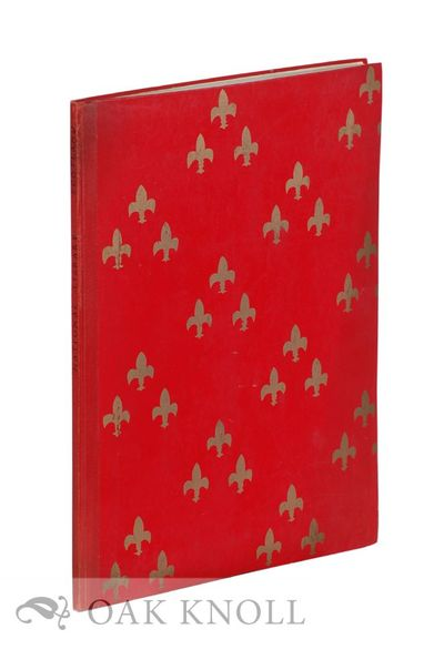(Edinburgh, Scotland): National Library of Scotland, 1956. later quarter cloth, paper-covered boards...