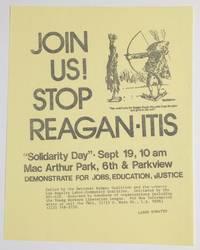 image of Join us! Stop Reagan-itis [handbill]