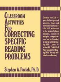 Classroom Activities For Correcting Specific Reading Problems