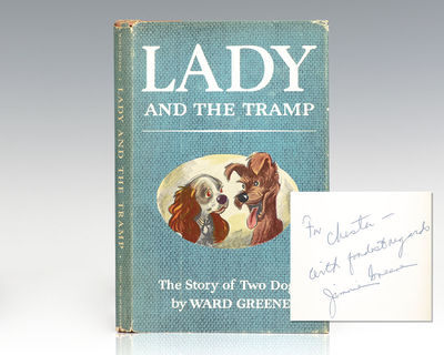 New York: Simon and Schuster, 1953. First edition of Ward Greene's Lady and the Tramp. Octavo, origi...