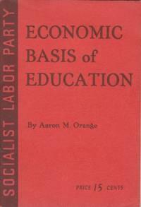 Economic Basis of education