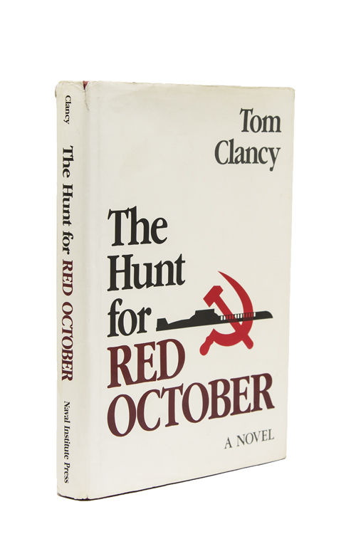 The Hunt for Red October by Tom Clancy - Signed First Edition - 1984 - from  James Cummins Bookseller and Biblio com