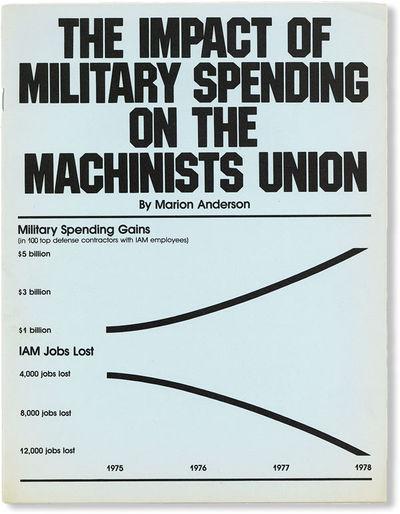 Washington DC: International Association of Machinists (IAM), 1979. First Edition. Pamphlet. Quarto....