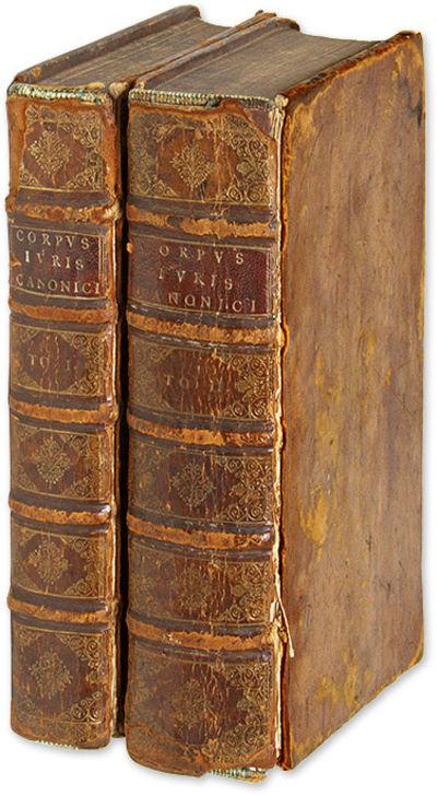 1661. Lyon: Sumptibus Laurentii Anisson, 1661. 2 vols.. Lyon: Sumptibus Laurentii Anisson, 1661. 2 v...
