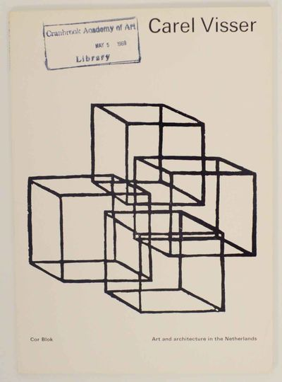 Amsterdam: J.M. Meulenhoff, 1968. First edition. Softcover. Part of the Art and Architecture in the ...