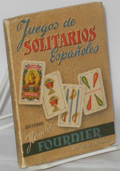 Vitoria (Espana): Editores: Heraclio Fournier, 1952. Paperback. 120p., each page panelled in blue, l...