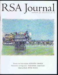 RSA Journal No. 5436 January/February 1993: The Journal of the Royal Society for the...
