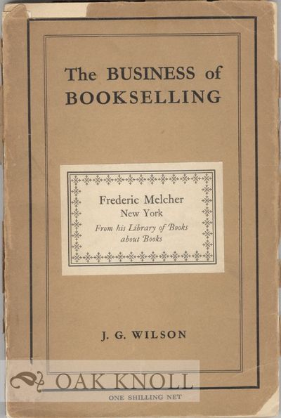 London: The Associated Booksellers of Great Britain and Ireland, 1930. paper wrappers. 8vo. paper wr...
