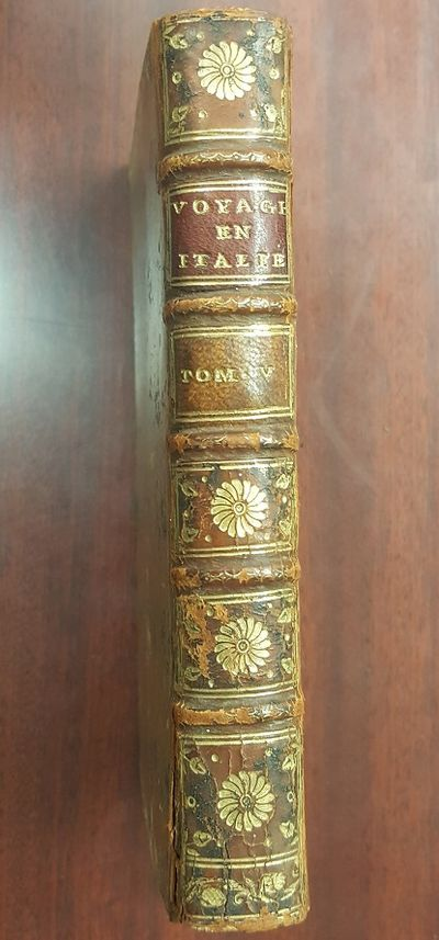 Paris: Chez Desaint, 1769. Hardcover. Small leatherbound octavo. G+ condition. Brown leather spine w...