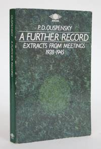 image of A Further Record: Extracts from Meetings, 1928-1945