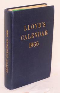 Lloyd\'s Calendar 1966