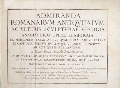 Admiranda Romanarum antiquitatum