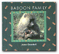 Baboon Family by  Jane Goodall - First Edition - 1991 - from Books in Bulgaria (SKU: 10330)