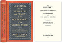 An Inquiry Into the Principles and Policy of the Government of the..