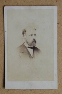 Carte De Visite Photograph: A Studio Portrait of a Bearded Gentleman.