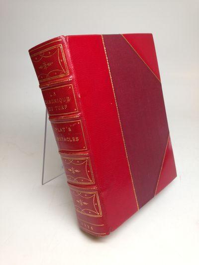 Paris: Chronique du Turf, 1876. hardcover. fine. 66 volumes, various sizes, beautifully bound in 3/4...