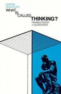 image of What Is Called Thinking? (Harper Perennial Modern Thought)