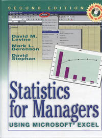 STATISTICS FOR MANAGERS : Using Microsoft Excel : 2nd Edition w/CD