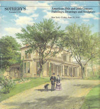 image of 1984 Sotheby's Auction Catalog of American 19th and 20th Century  Paintings, Drawings and Sculpture