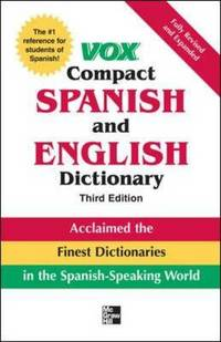 image of Vox Compact Spanish and English Dictionary, Third Edition (Paperback)