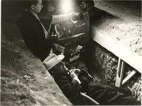 Boccaccio '70 (Original photograph of Federico Fellini on the set of the 1962 film)