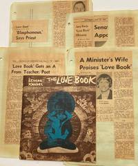 image of The Love Book [together with news clippings about the subsequent trial for obscenity]