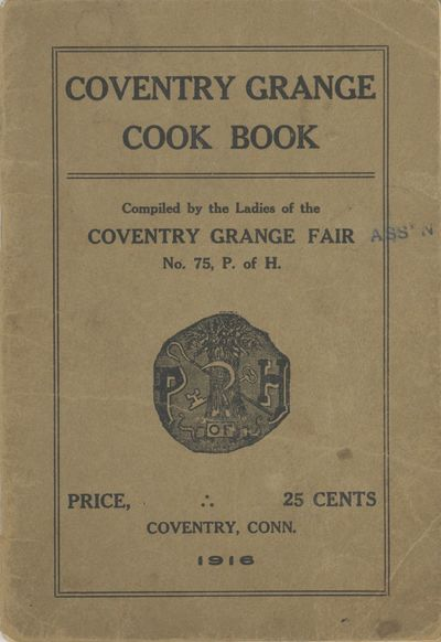 Coventry, Conn: , 1916. Small octavo (17.5 x 12 cm.), 31 pages.