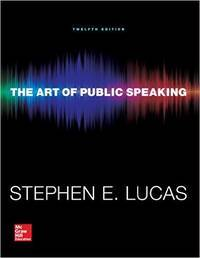 image of The Art of Public Speaking (Communication) Standalone Book 12th Edition