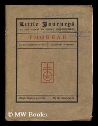 image of Little Journeys to the Homes of Great Philosophers: Thoreau: Vol. XV, December 1903, No. 6