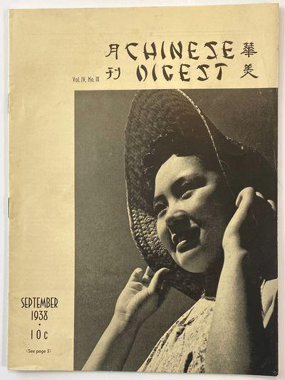 San Francisco: Chinese Digest, 1938. 19p., staplebound wraps, 8x11 inches, very good; many B&W photo...