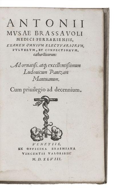 Examen omnium electuariorum,...