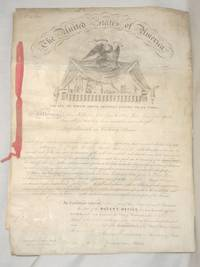 DS: U.S. Patent Signed by James Buchanan (as Secretary of State) and Edmund Burke (as Commissioner of Patents)
