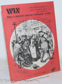 image of WIN: Peace and Freedom Through Nonviolent Action; Volume 4, Number 15, September 1, 1968: Extra special sections on Peace & Freedom Party and Resistance