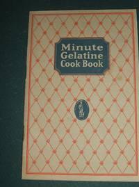 1924 Advertising cookbook Minute Gelatine Cook Book
