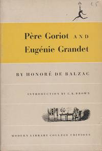 image of Pere Goriot and Eugenie Grandet
