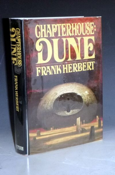 New York; (1985): G.P. Putnam's Sons. First Edition. Octavo. 464pp., The ongoing Dune legend has alr...