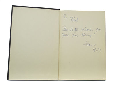 Inscribed by Fleming to Sir William Stephenson, Who was Known as the