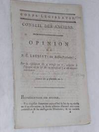 Opinion sur la résolution du 4 nivose an 7, relative à l'époque...