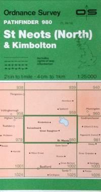 St. Neots (North) & Kimbolton Pathfinder map sheet 980