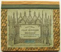 Ecritures Ancienne Volume 1 of the Oeuvres De Jean Midolle