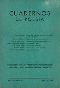 image of Cuadernos de Poesía. Year I, No. 1 (Summer 1966) (all published)
