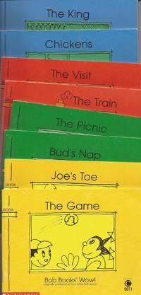 image of Bob Books Wow! (originally Even More Bob Books) Level C Set 1, 8 volumes.