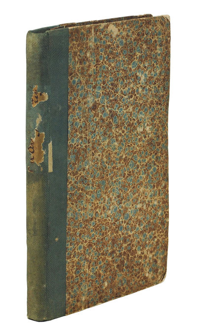Sm. Philadelphia: Carey and Hart, 1847 . Sm. 8vo (18.7 x 13.5 cm), iii-vii , 9-204 pp., wood-engrave...