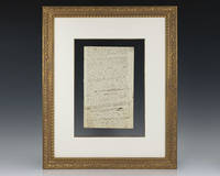 Isaac Newton Original Manuscript.