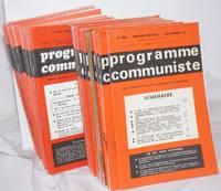 image of Programme Communiste Revue Theorique de Party Communiste International