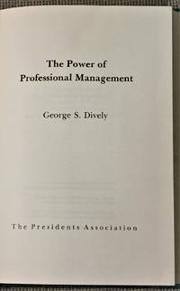 The Power of Professional Management