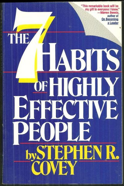 Image for SEVEN HABITS OF HIGHLY EFFECTIVE PEOPLE Restoring the Character Ethic